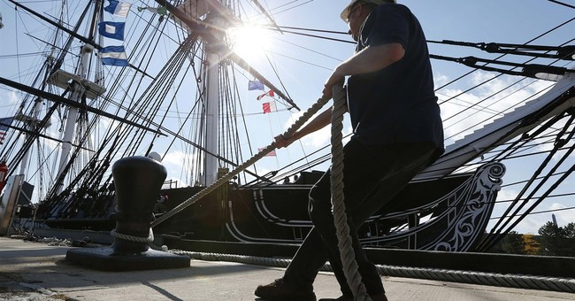 Constitution takes trip before 3-year restoration