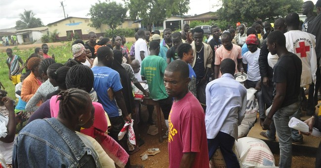 Food deliveries in Sierra Leone to fight Ebola