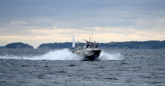 Sweden underwater activity search continues