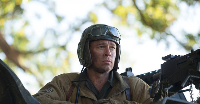 'Fury' defeats 'Gone Girl' in box-office battle