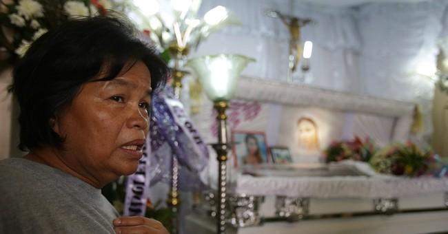 Philippine leader: Murder case won't harm US ties