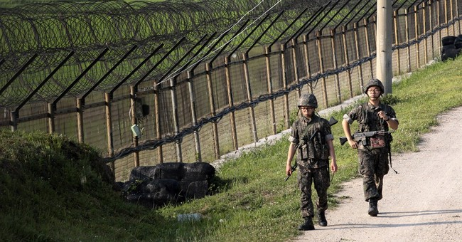 S. Korea: 2 Koreas exchange gunfire along border