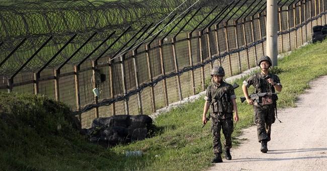 S. Korea: 2 Koreas exchange gunfire along border