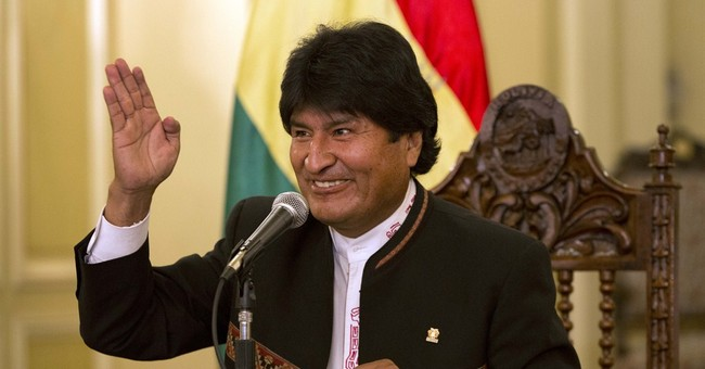 Now it's official: Bolivia's Morales re-elected