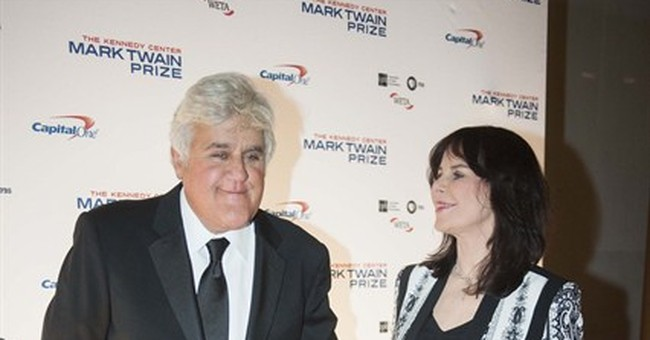 Comedians honor Jay Leno with humor prize in DC
