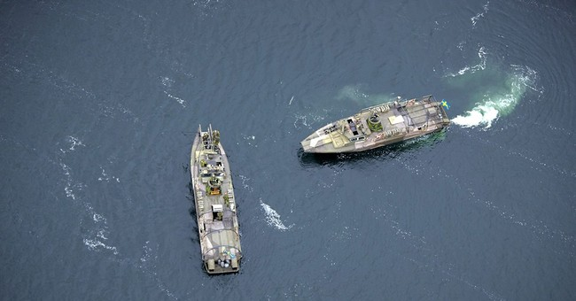 Submarine hunt sends Cold War chill across Baltic