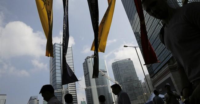 HK leader: 'External forces' involved in protests