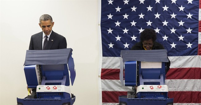 Obama casts his vote early in Chicago
