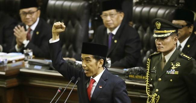 Joko Widodo sworn in as Indonesia's new president