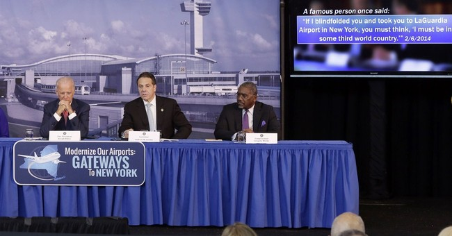 Biden touts plans to fix 'Third World' NYC airport