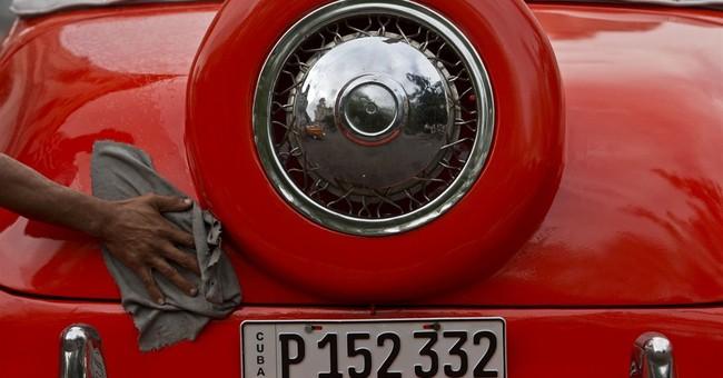 AP PHOTOS: New gloss on Cuba's classic cars