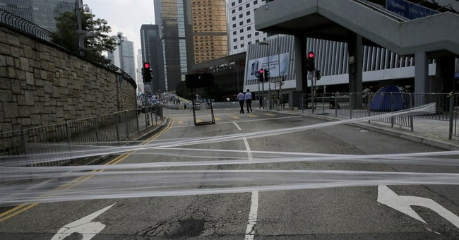 HK leader: 'External forces' involved in protests