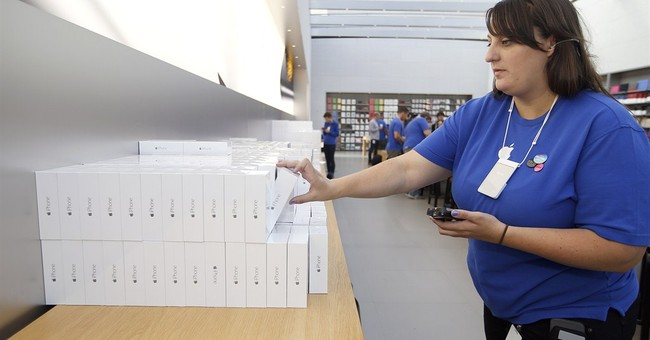 Record iPhone sales drive Apple's 3Q beat