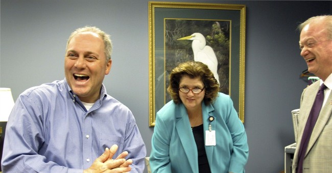 For GOP's Scalise, being No. 3 boosts popularity