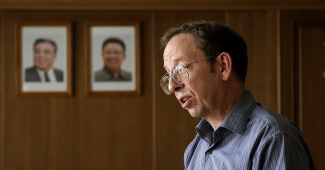 One American released from North Korea, two remain