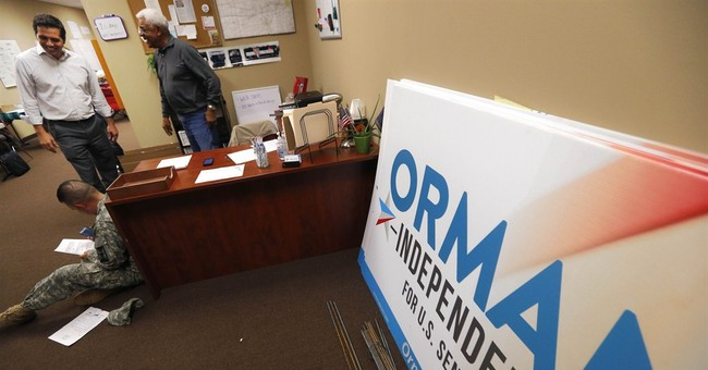 Kansas independent Orman campaigns under the radar