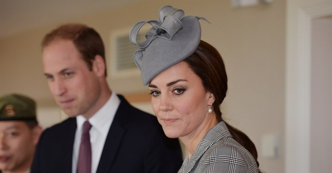 Pregnant Kate back at work after morning sickness