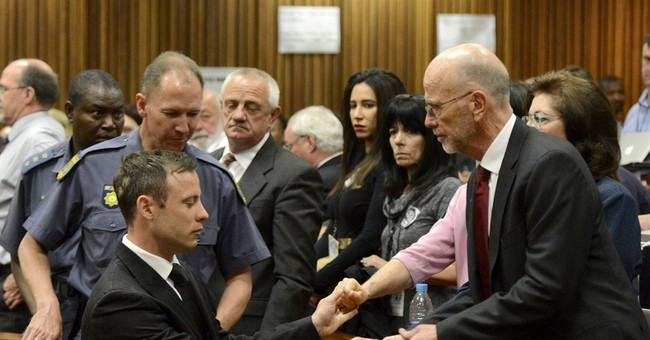 Pistorius out of Paralympic events for 5 years