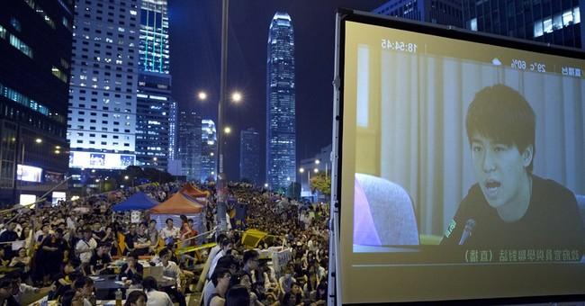 HK protest talks show gap between students, govt