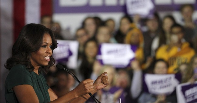 Michelle Obama rallies voters in Iowa, Minnesota