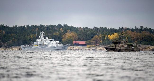 Sweden scales back submarine hunt