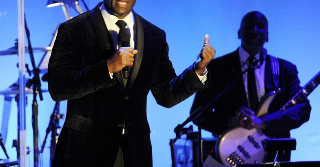 Magic Johnson ready to assist tech in diversity