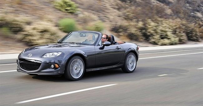 Mazda roadster in Guinness World Records