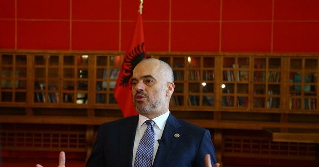 Albania PM seeks to ease tensions with Serbia
