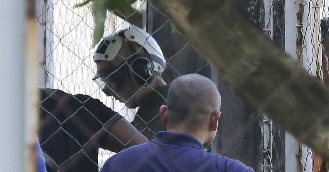 Marine suspect guarded by US in Philippine camp