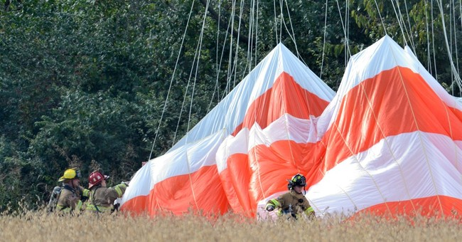 Official: 3 dead, 1 hurt in Maryland air crash