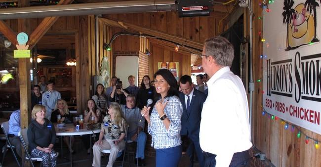 Jeb Bush campaigns with Haley in South Carolina