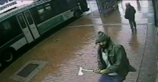 NYC police commissioner: Hatchet attack was terror