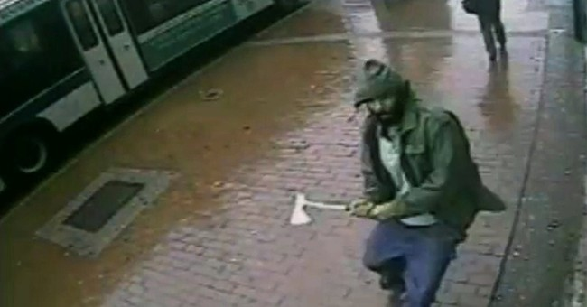 Police: Hatchet-wielding suspect shot by officers
