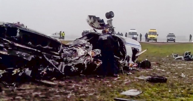 Report: Total CEO's plane almost escaped crash