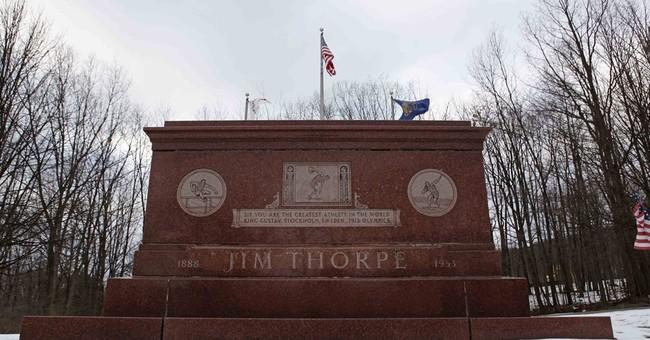 Pennsylvania town can keep Jim Thorpe's body