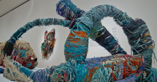 Retrospective of fiber artist opens at NYC museum