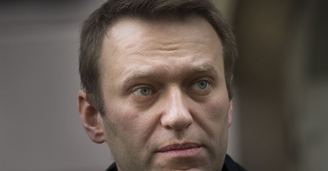AP Interview: Russia's Navalny vows to fight Putin
