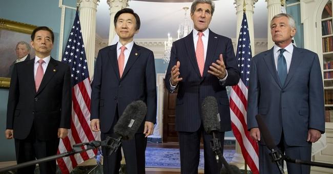 Kerry says no apology to NKorea to free Americans