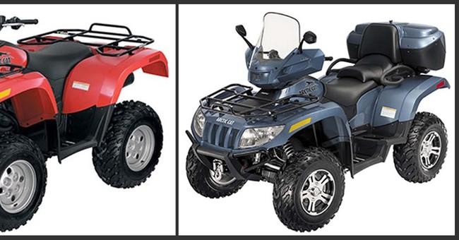 Recalls this week: Artic Cat all-terrain vehicles