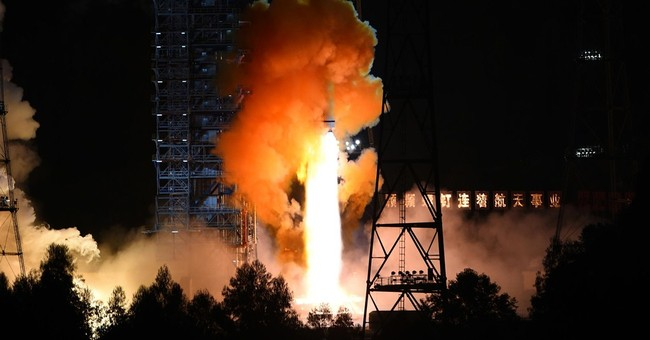 China launches experimental moon orbiter