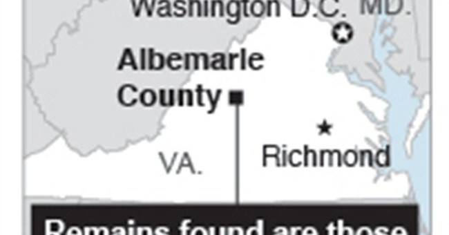 Remains belong to missing Virginia student