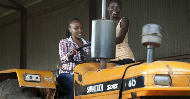 Miss Uganda contestants compete in farming