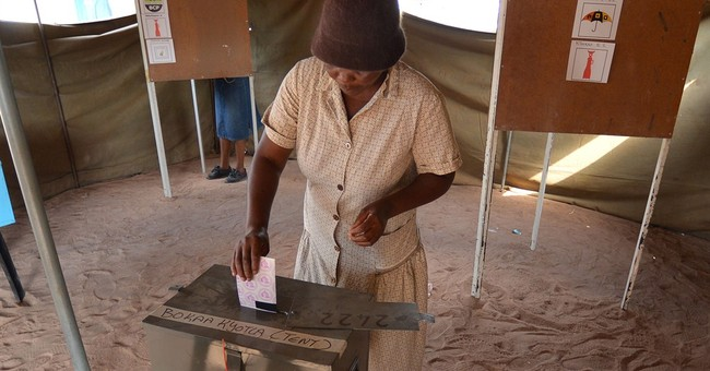 Botswana ruling party leads in early vote results