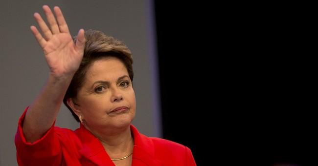 Brazil presidential rivals face off in debate