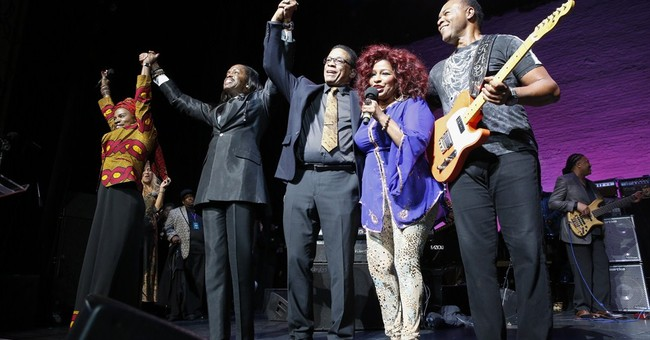 Hancock honored at jazz benefit concert at Apollo