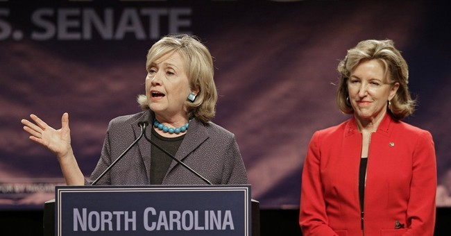 Hillary Clinton rallies NC Democrats for Sen Hagan