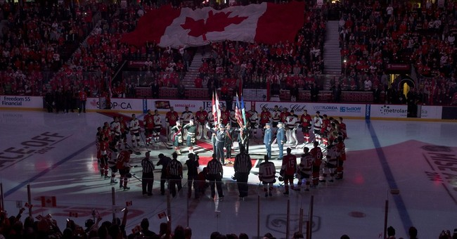 Hockey returns to Ottawa with emotional ceremony