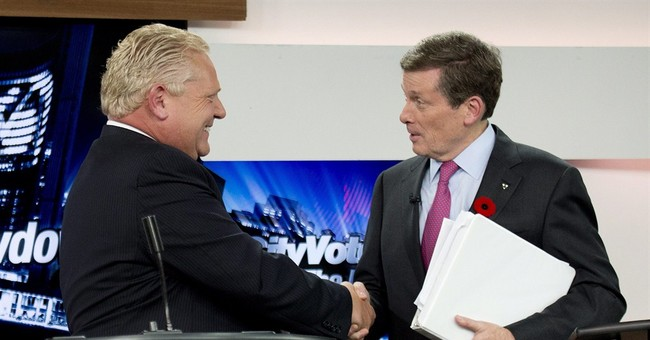 Toronto elects a new mayor, ends Ford era