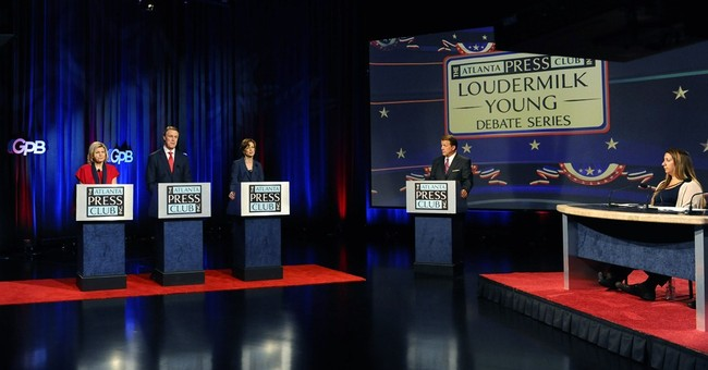 Ga. Senate debate: Nunn, Perdue spar over gridlock