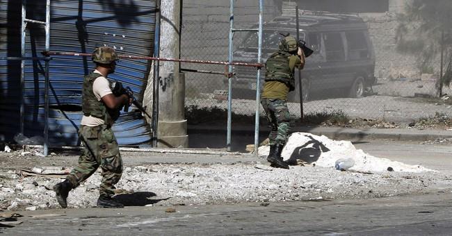 Lebanese troops fight street battles in Tripoli